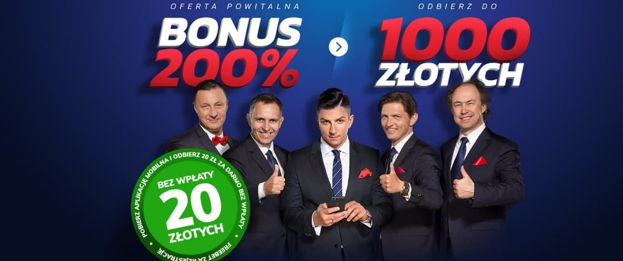 W Etoto bonus bez depozytu!