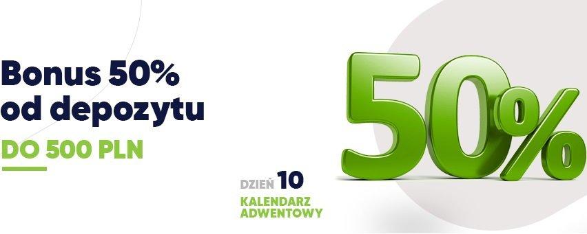 Tylko dziś: premia aż do 500 PLN w forBET!