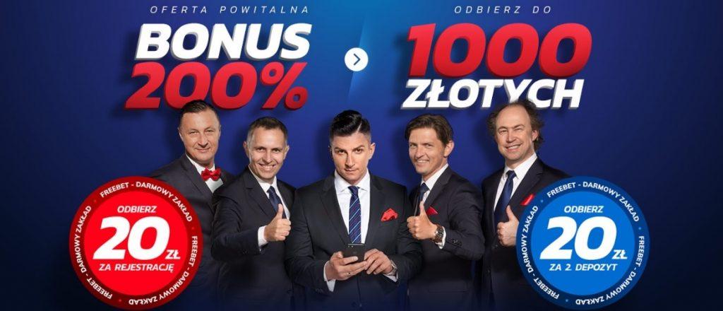 Ponad 1 000 PLN w pakiecie powitalnym Etoto!