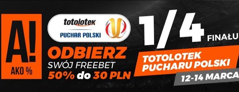 Specjalna promocja na Puchar Polski w Totolotku!