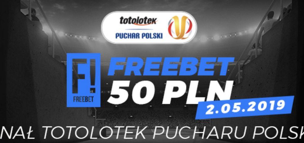 Freebet 50 PLN od Totolotka. Obstawiaj finał Pucharu Polski!