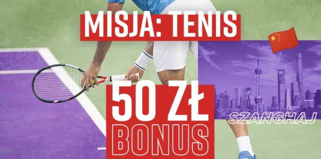Betclic daje 50 PLN na tenis! Obstawianie = bonus!