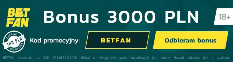 Kod promocyjny BetFan 2019